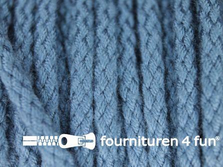 Jassen koord 4mm jeans blauw