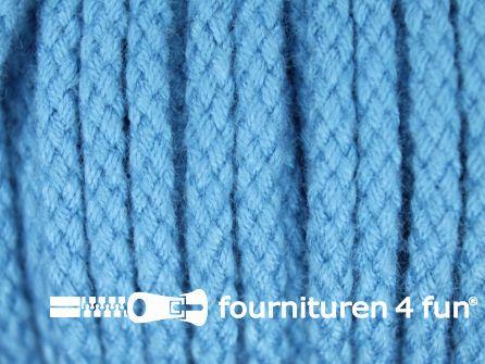 Jassen koord 4mm aqua blauw