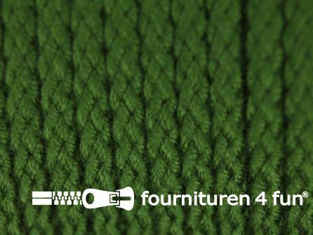 Jassen koord 4mm licht leger groen