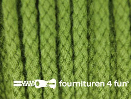 Jassen koord 4mm olijf groen