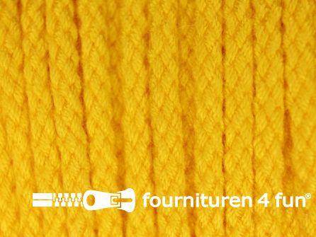 Jassen koord 4mm mais geel