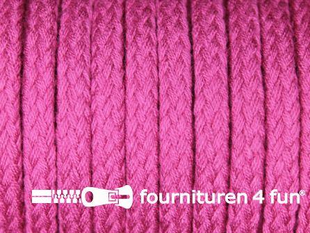 Jassen koord 6 tot 8mm fel oud roze