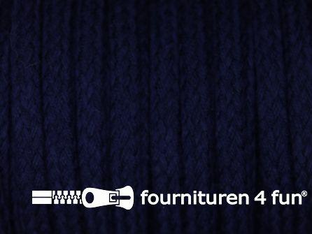 Jassen koord 6 tot 8mm marine blauw