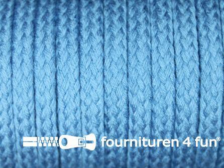 Jassen koord 6 tot 8mm aqua blauw