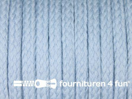 Jassen koord 6 tot 8mm licht blauw