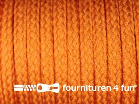 Jassen koord 6 tot 8mm oranje
