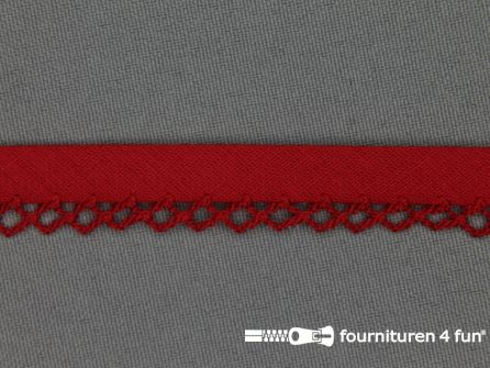 Deco biasband uni 12mm rood
