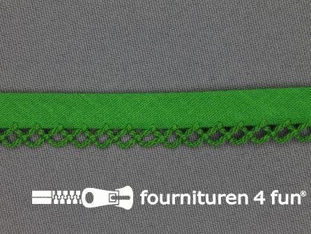 Deco biasband uni 12mm gras groen