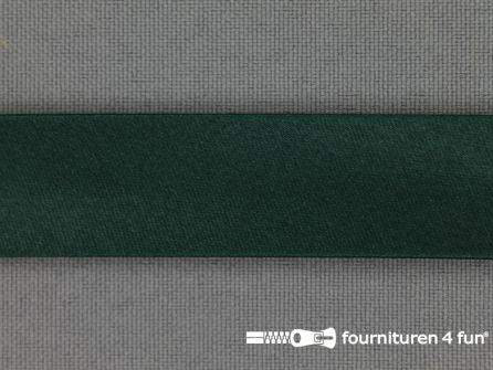 Satijnen biasband 18mm donker groen