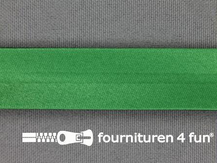 Satijnen biasband 18mm emerald groen