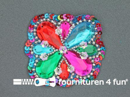 Broche 50mm multicolor