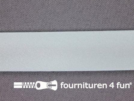 Rol 25 meter satijnen biasband 18mm mint