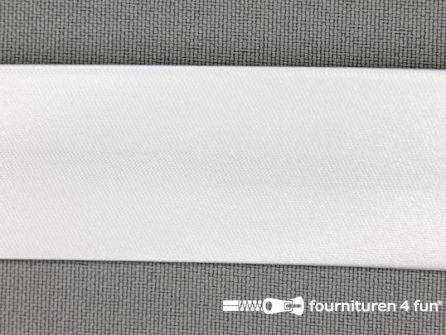 Satijnen biasband 30mm ecru kleur 13