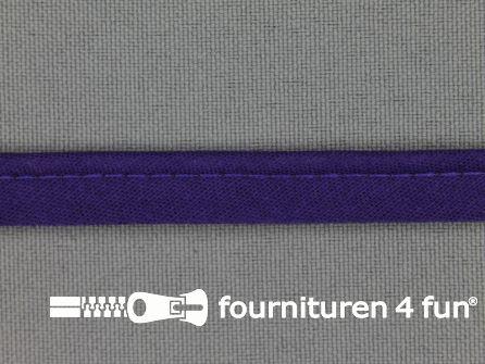 Katoenen paspelband 10mm paars
