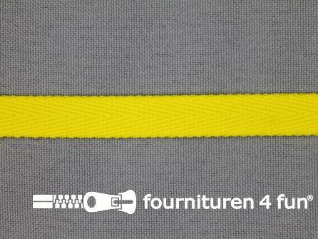 Nylon keperband 10mm fel geel