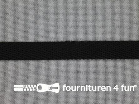 Nylon keperband 10mm zwart