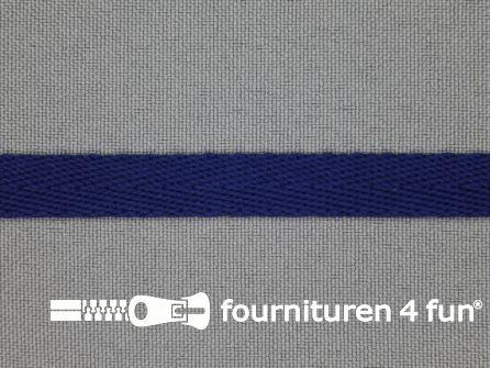 Nylon keperband 10mm kobalt blauw