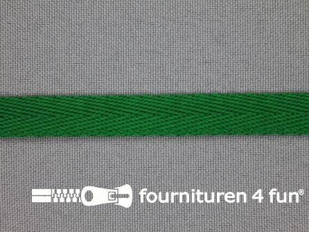 Nylon keperband 10mm emerald groen