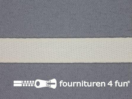 Nylon keperband 14mm ecru