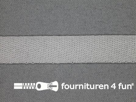 Nylon keperband 14mm licht grijs