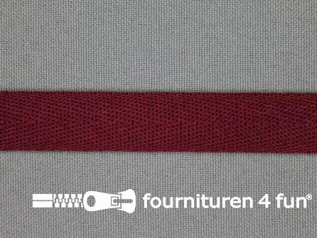 Nylon keperband 14mm bordeaux