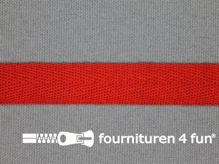 Nylon keperband 14mm rood