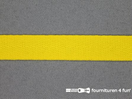 Nylon keperband 14mm mais geel