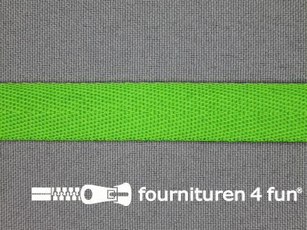 Nylon keperband 14mm lime groen