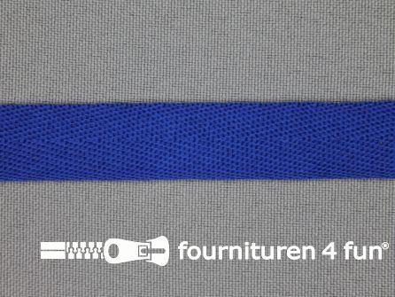 Nylon keperband 14mm kobalt blauw