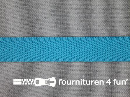 Nylon keperband 14mm turquoise