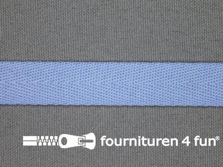 Nylon keperband 14mm licht blauw