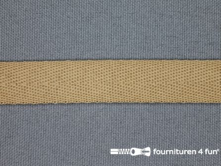 Nylon keperband 14mm beige