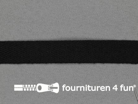 Rol 50 meter luxe keperband 15mm zwart