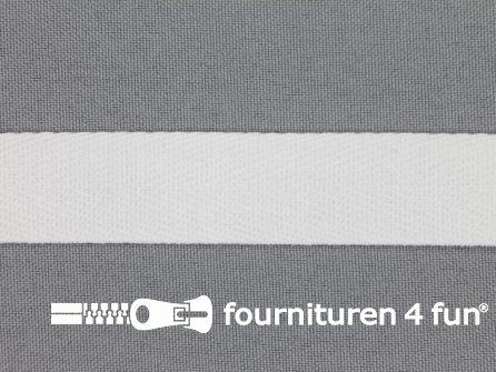 Bosje 4 meter keperband 20mm wit