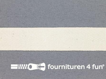 Luxe keperband 20mm ecru