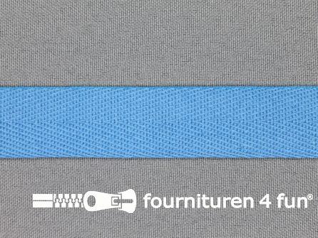 Luxe keperband 20mm licht aqua blauw