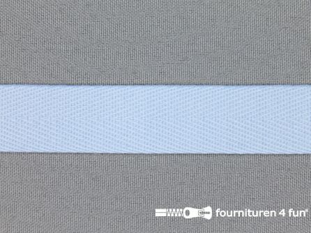 Luxe keperband 20mm licht blauw