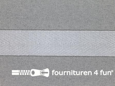 Luxe keperband 20mm licht grijs