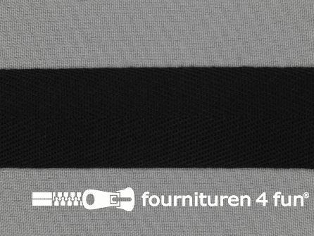 Luxe keperband 30mm zwart