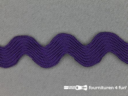 Zigzag band 15mm paars