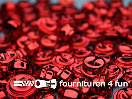 Belletjes 16mm rood 10 stuks