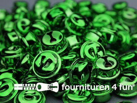 Belletjes 16mm gras groen 10 stuks
