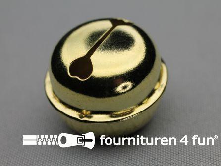 Belletjes 29mm goud 50 stuks