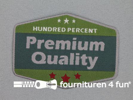 Applicatie 72x100mm zeshoek premium quality