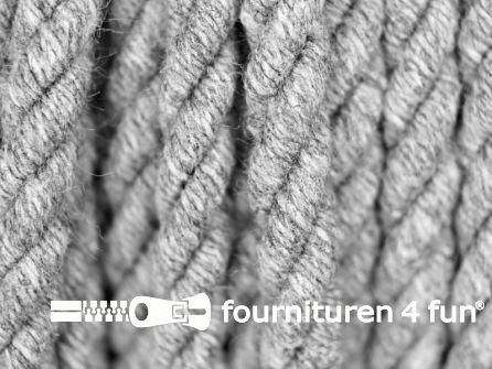 Katoenen meubel koord 5mm grijs