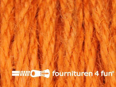 Jute koord 4mm oranje