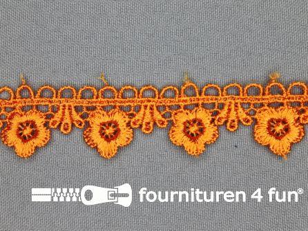 Bloemenkant 20mm oranje