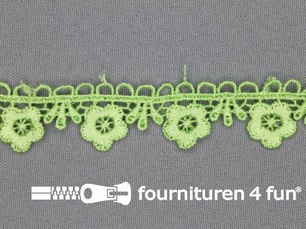 Bloemenkant 20mm pistache groen