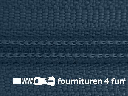 Niet deelbare broek rits nylon 4mm marine blauw