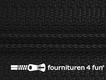Niet deelbare broek rits nylon 4mm zwart
